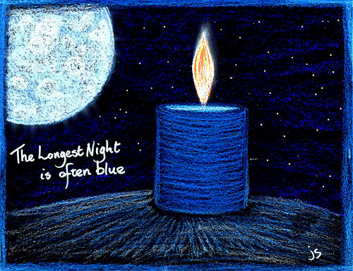 solace and serenity a longest night blue christmas service - Blue Christmas Service