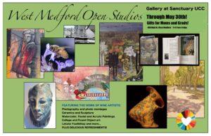 May Gallery Installation: West Medford Open Studios Artists