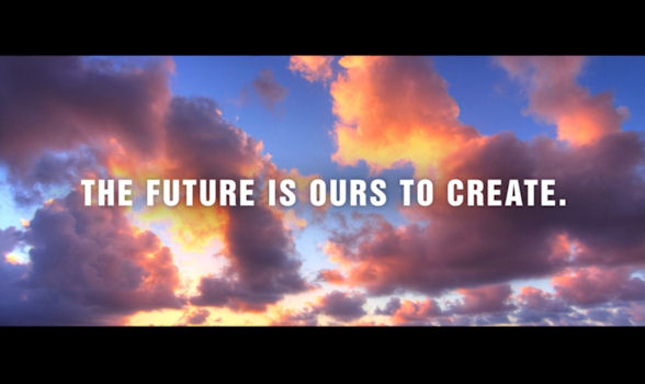 The Future Is Ours To Create