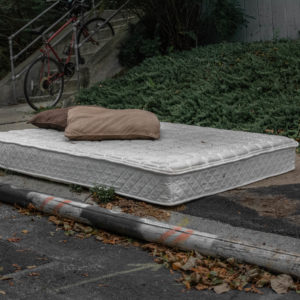 Sidewalk Sleeping