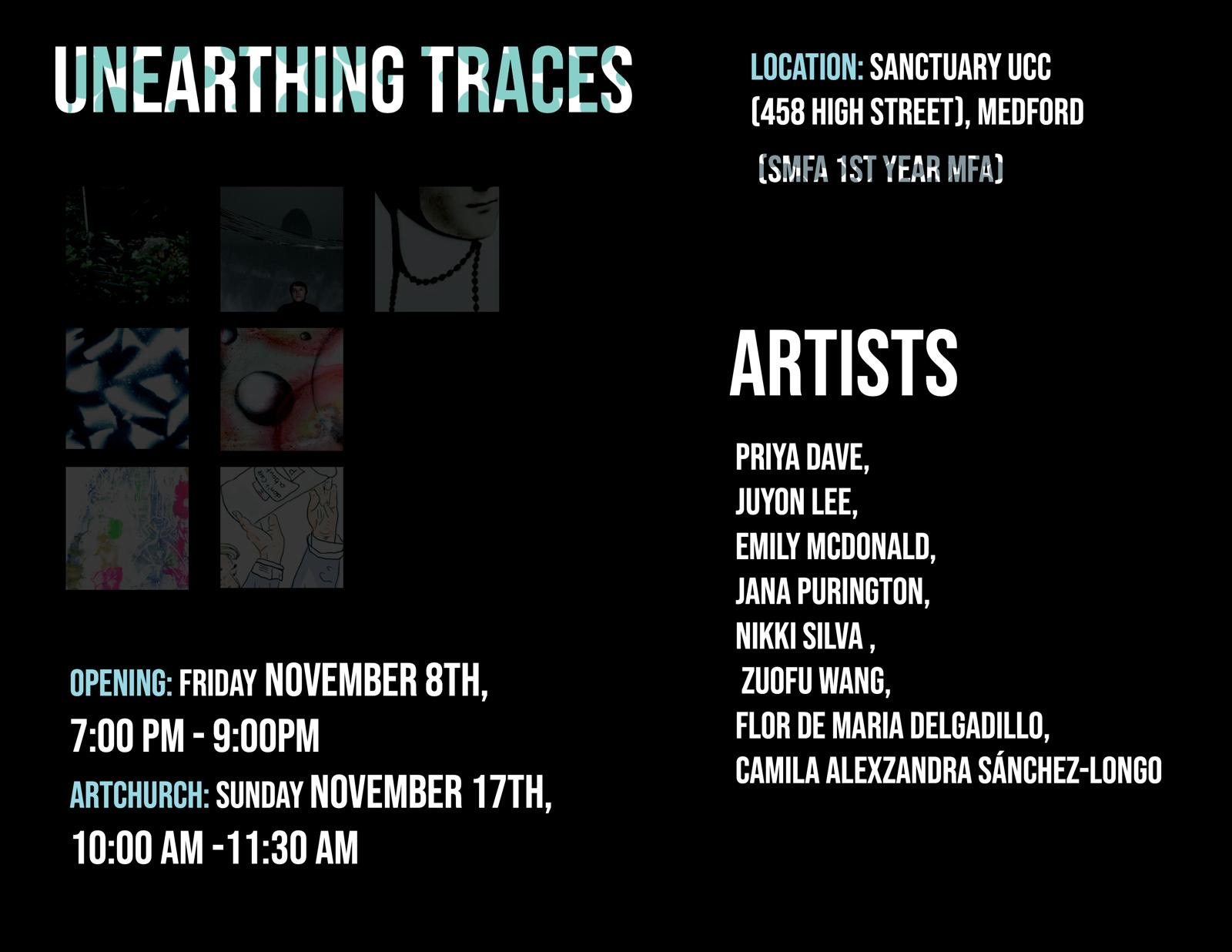 Nov 2019: Unearthing Traces – SMFA @ TUFTS