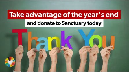 Sanctuary Thanks You For Your Support In 2019