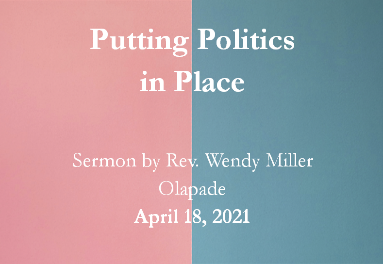 What's New in Worship This Sunday, April 21, 2021?