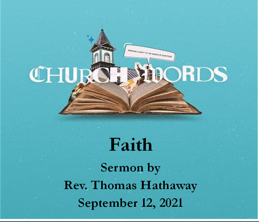 What's New in Worship This Sunday, September 12, 2021?